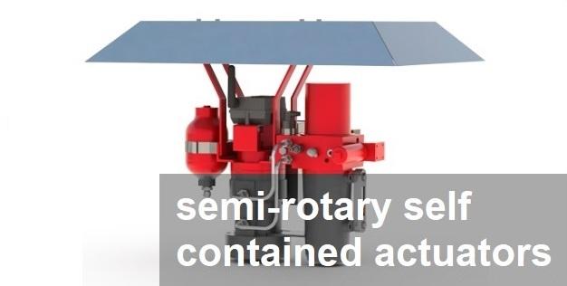 SemiRotarySelfContainedActuators
