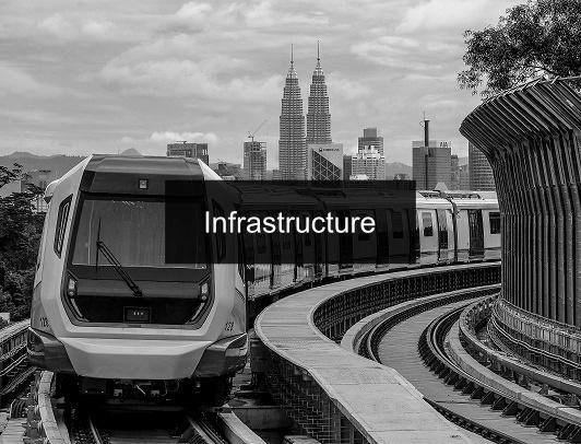 columnblackinfrastructureText