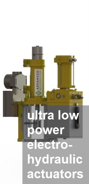 UltraLowPowerElectrohydraulicActuators